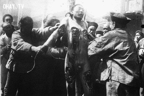 hình phạt đáng sợ, hình phạt thời phong kiến, tùng xẻo