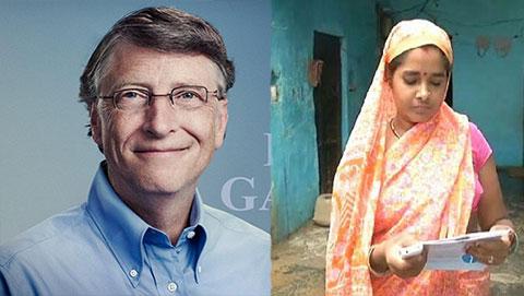 """Bill Gates bị một phụ nữ Ấn Độ """"soán ngôi"""" giàu nhất thế giới trong vài giờ"""