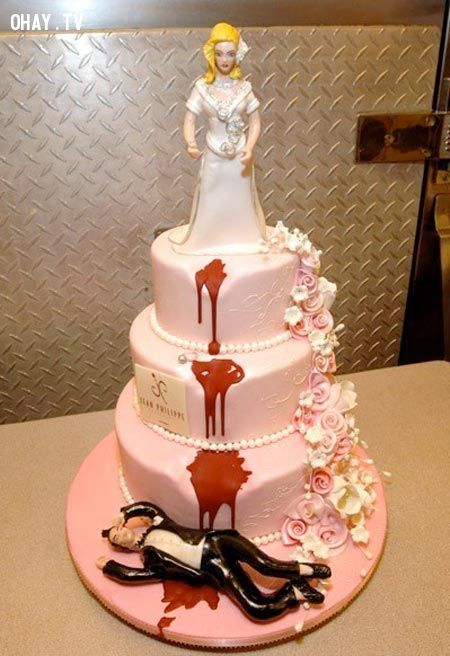 ảnh bánh cưới,bánh cưới độc đáo,bánh cưới kinh dị,bánh cưới đẹp,bánh cưới ngộ nghĩnh,bánh kem độc đáo