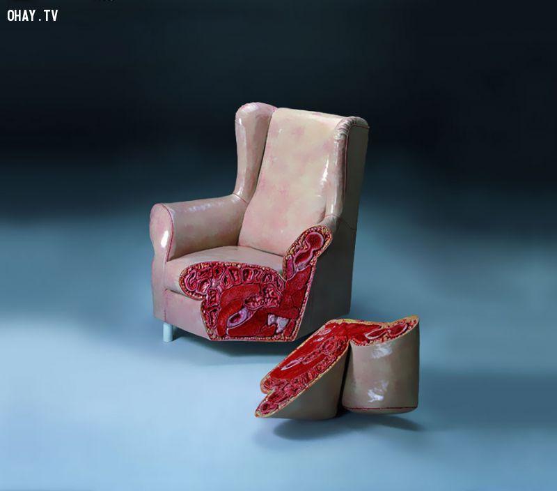 Cắt lớp ghế bành