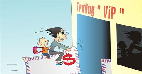 Bộ tranh biếm họa sức mạnh của đồng tiền trong xã hội ngày nay