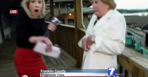 Hai phóng viên người Mỹ bị bắn chết ngay trên sóng truyền hình trực tiếp