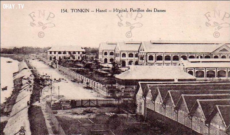 Thương xá Đồn Thủy. Hôpital, Pavillon des Dames