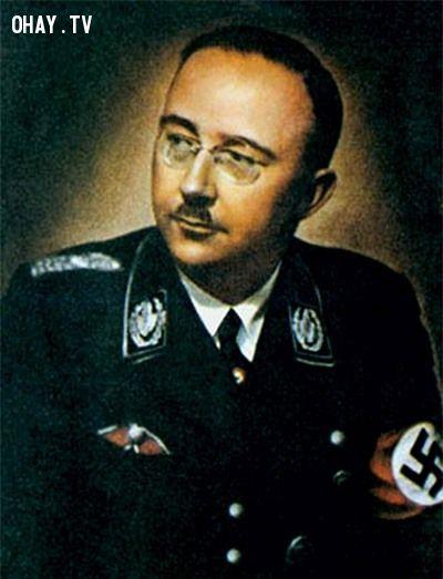 Trùm Himmler, người chỉ đạo các chương trình thí nghiệm tàn bạo