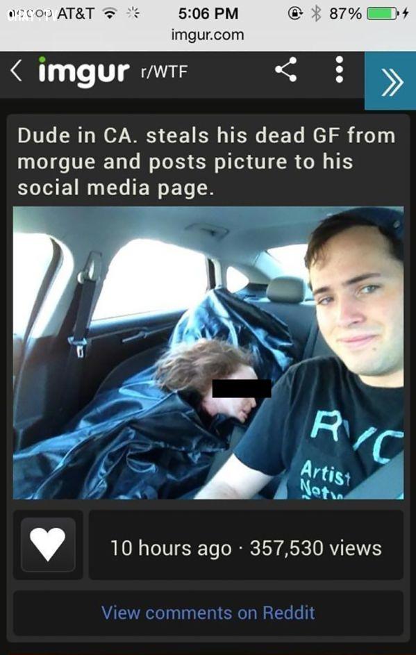 trộm xác bạn gái