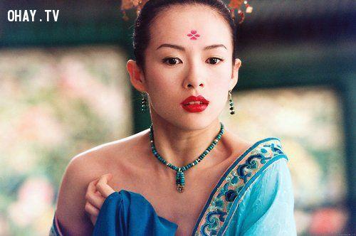 ảnh kỹ nữ,màn ảnh Hoa Ngữ,Chương Tử Di,Lưu Thi Thi,Trần Kiều Ân