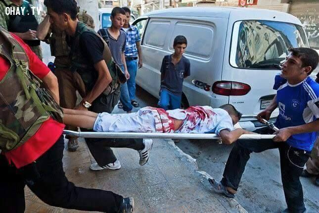 ảnh chiến tranh,syria
