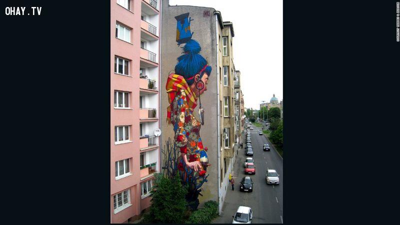 ảnh tranh tường,tranh đường phố