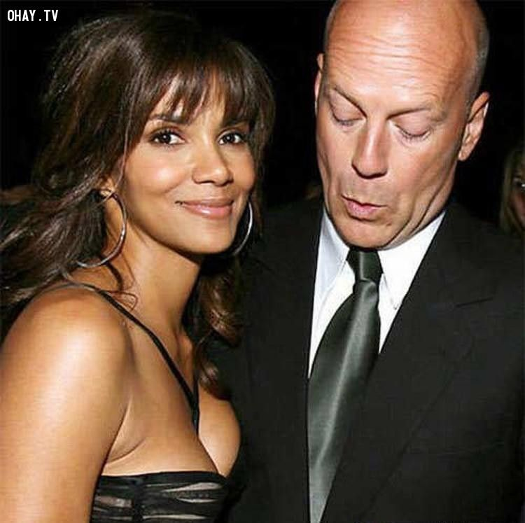 Halle Berry và Bruce Willis