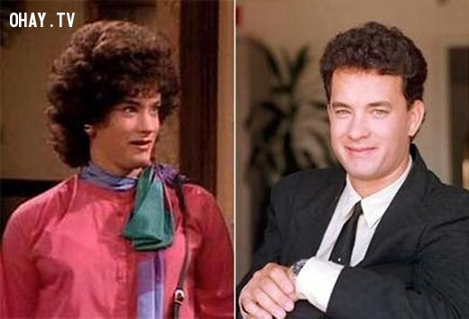 ảnh giả gái,sao nam Hollywood giả gái,Johnny Depp,Tom Hanks