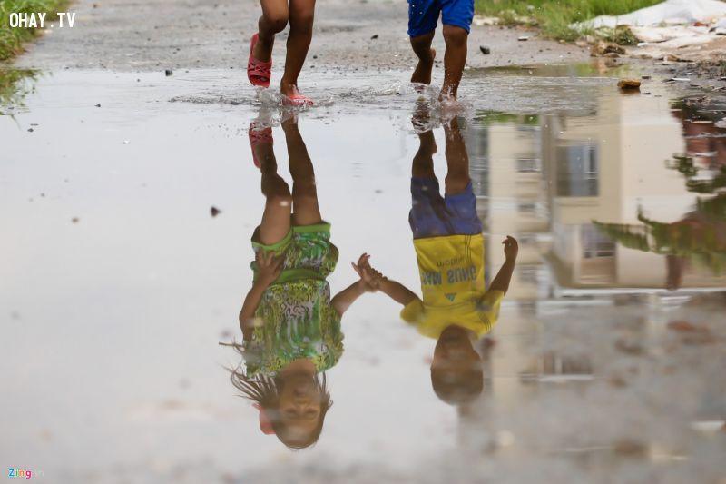 Xóm nghèo như bản làng miền núi bên cầu Sài Gòn
