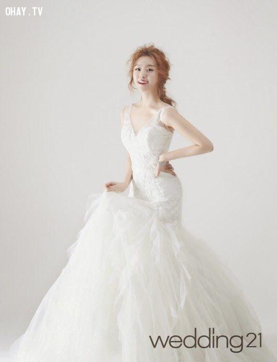 ảnh kpop,mặc áo cưới