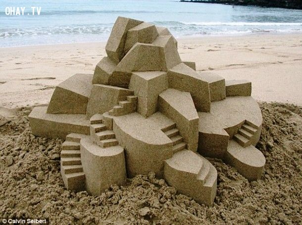 ảnh lâu đài cát,xây lâu đài cát,kiệt tác lâu đài cát,lâu đài trên cát