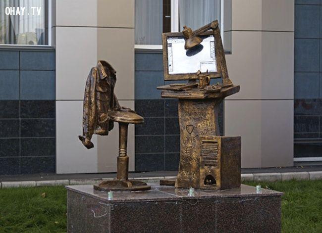 ảnh điêu khắc kỳ lạ,tượng đài,Ngựa rừng Las Colina,Nelson Mandela,điêu khắc