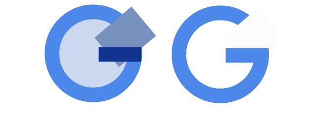 G in Google.