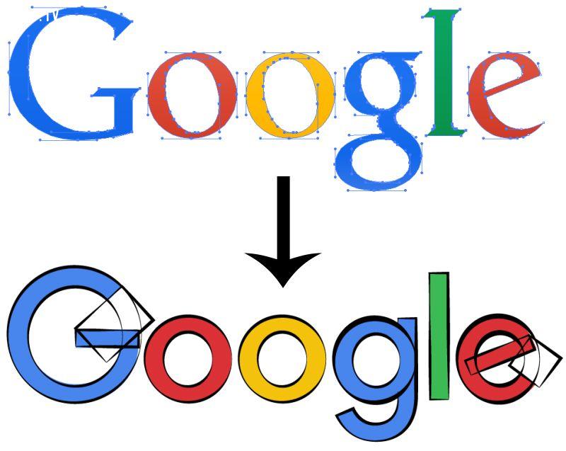 ảnh google,logo google,google đổi logo,logo