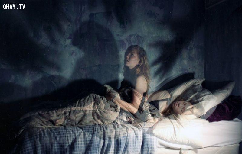 ảnh điều kỳ lạ,giấc ngủ,giấc mơ
