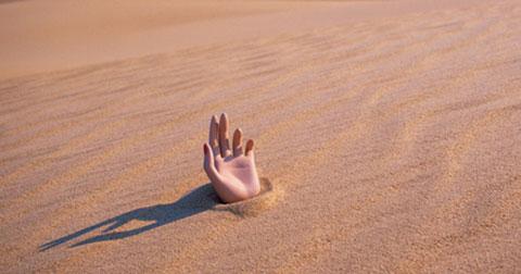 Làm sao để thoát khỏi vùng cát lún?