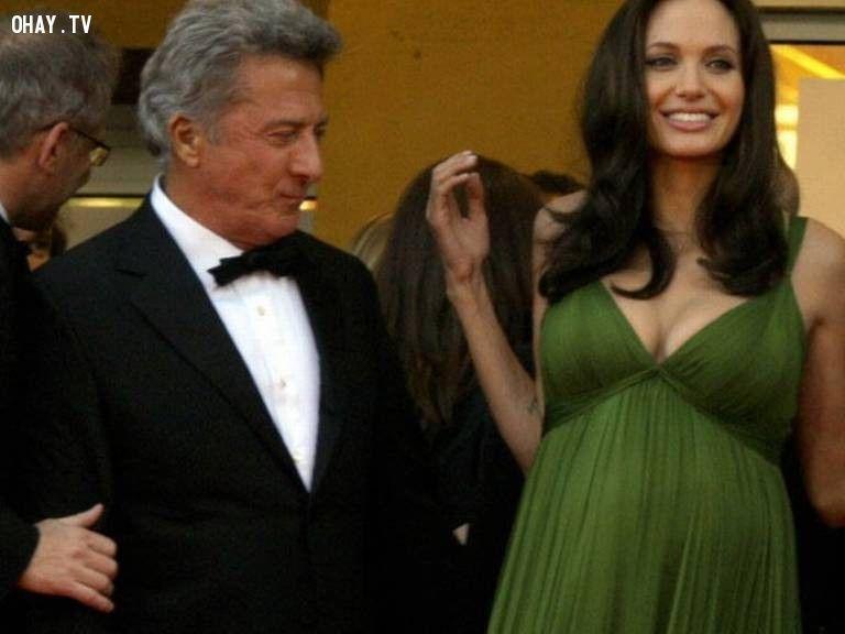 Dustin Hoffman và Angelina Jolie