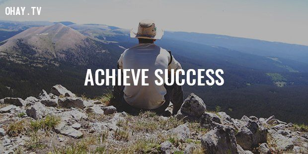 ảnh nguyên tắc thành công,bí quyết thành công,thành công,thất bại,nguyên tắc sống