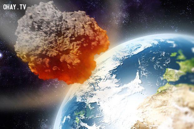 trái đất, thien thach, tận thế, NASA,