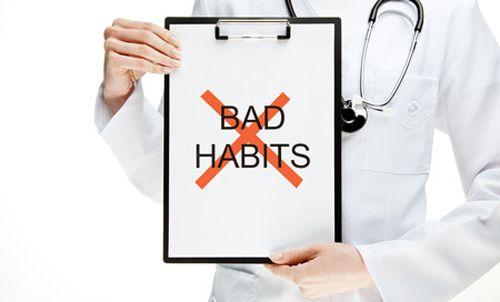 ảnh sai lầm,ảnh hưởng sức khỏe,thói quen xấu,thói quen không tốt cho sức khỏe