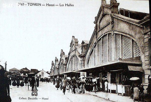 Chợ Đồng Xuân. Les Halles
