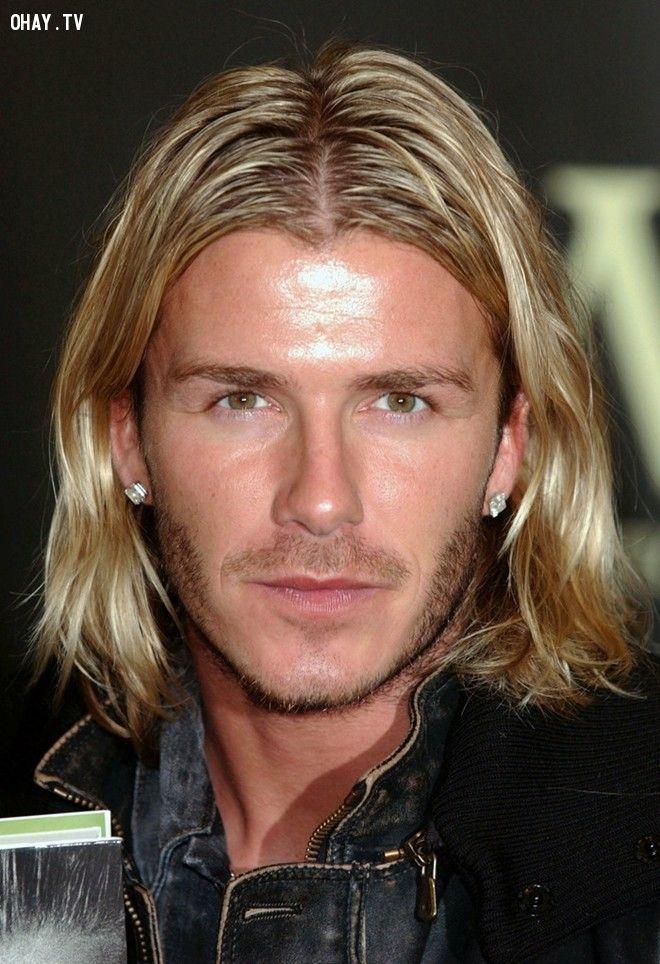 ảnh david beckham,kiểu tóc david beckham,kiểu tóc nam