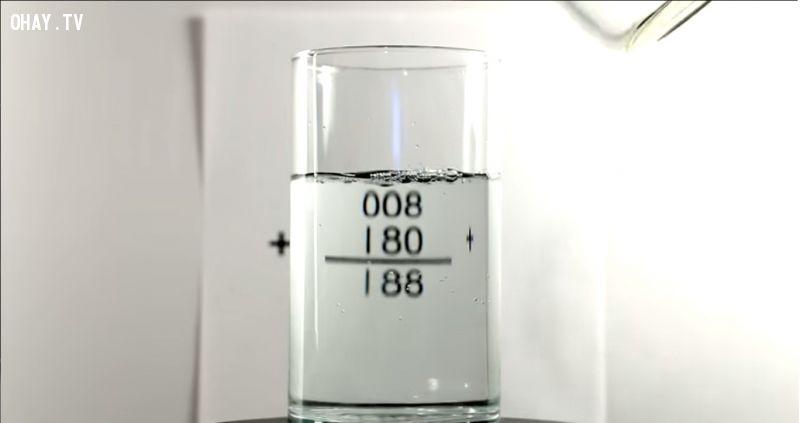 10 mẹo hay về chất lỏng khiến bạn phải ngạc nhiên