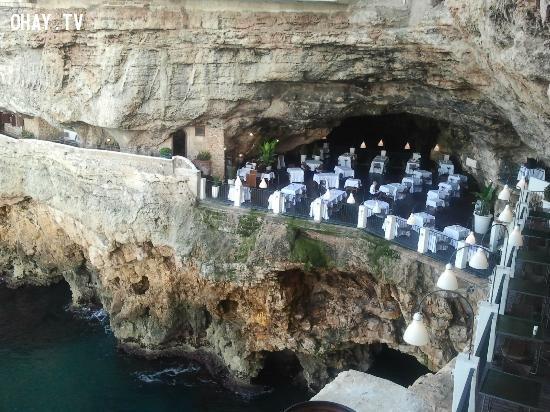Ristorante Grotta Palazzese Polignano