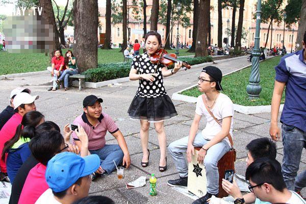 Các nghệ sĩ đã không còn ngại khi biểu diễn ở công viên