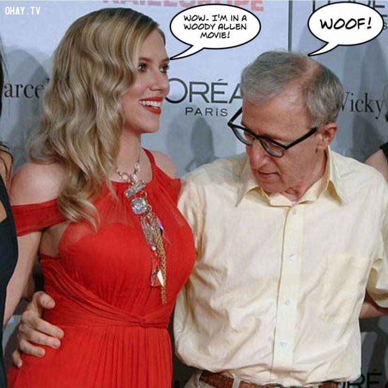 Scarlett Johansson và Woody Allen