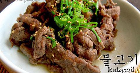 Những món ăn truyền thống của Hàn Quốc.