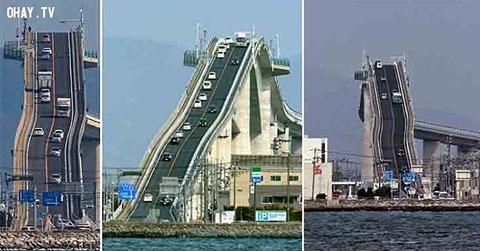 5 cây cầu kỳ lạ nhất thế giới vượt ngoài sức tưởng tượng của bạn