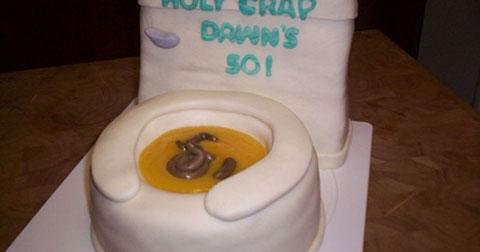 10 chiếc bánh kem chắc chắn bạn không muốn được tặng vào ngày sinh nhật