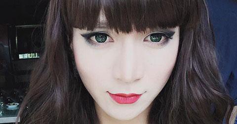 Ngắm nhìn những hình ảnh giả gái tuyệt đẹp của BB Trần