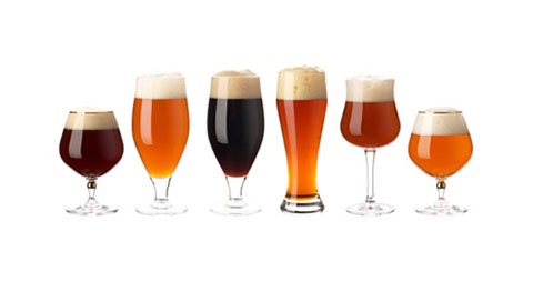 Các loại ly dùng để uống bia