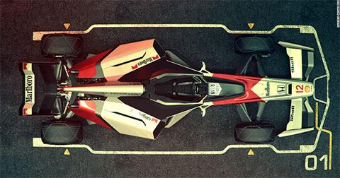 Xe đua F1 sẽ như thế nào vào năm 2056?