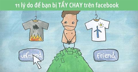 11 điều đừng nên làm trên Facebook nếu bạn không muốn bị TẨY CHAY