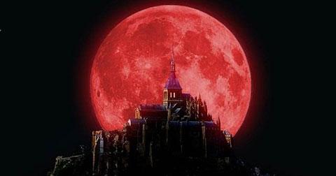 Trăng máu và Siêu trăng tháng 9 - Lời tiên tri về Ngày Tận Thế?