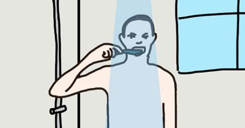 Thói quen tắm vòi sen tiết lộ điều gì về bạn