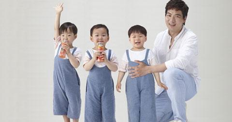Daehan Minguk Manse những anh bạn nhỏ dễ thương.