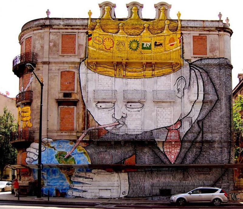 ảnh nghệ thuật đường phố,tranh vẽ tường