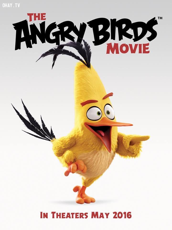ảnh hoạt hình,angry bird,trailer phim