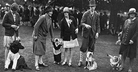 Lễ hội chó mèo giới quý tộc cách đây 100 năm!