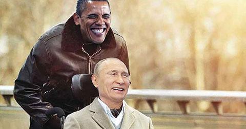 Hài hước bộ ảnh Khi Obama, Merkel và Putin trở thành diễn viên đóng phim