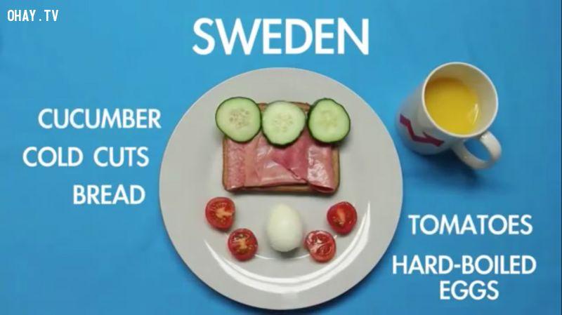 Các món ăn ngon mỗi sáng tại 17 quốc gia trên thế giới