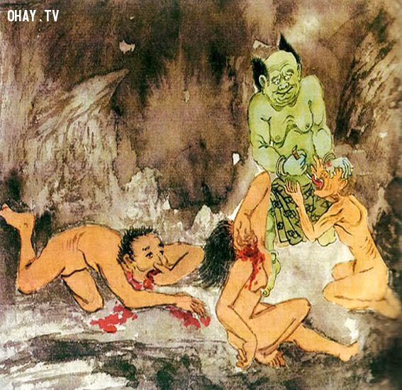 1. Kéo lưỡi rút ra tại Bạt Thiệt Địa Ngục