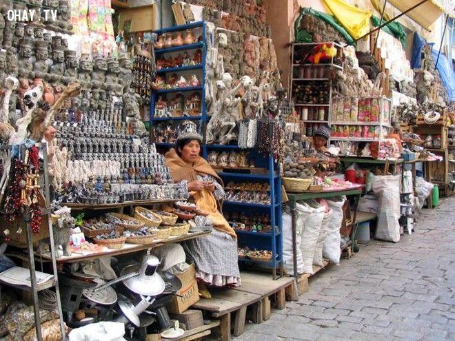 khu chợ kỳ lạ, khu chợ kỳ lạ nhất thế giới, khu chợ, thế giới, chợ