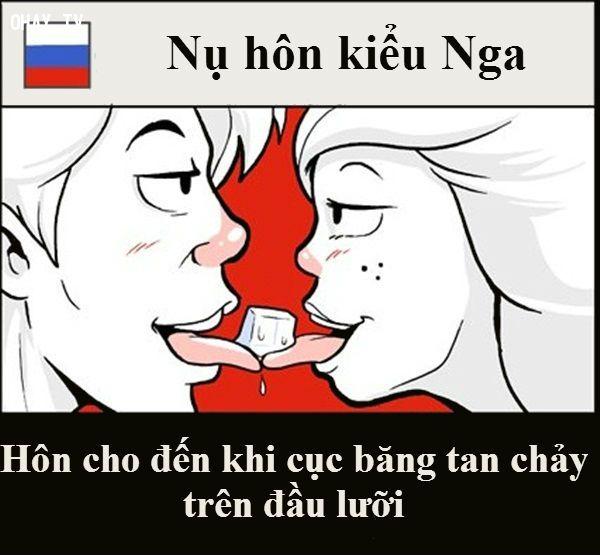 Choáng với những kiểu hôn độc lạ của các nước trên thế giới